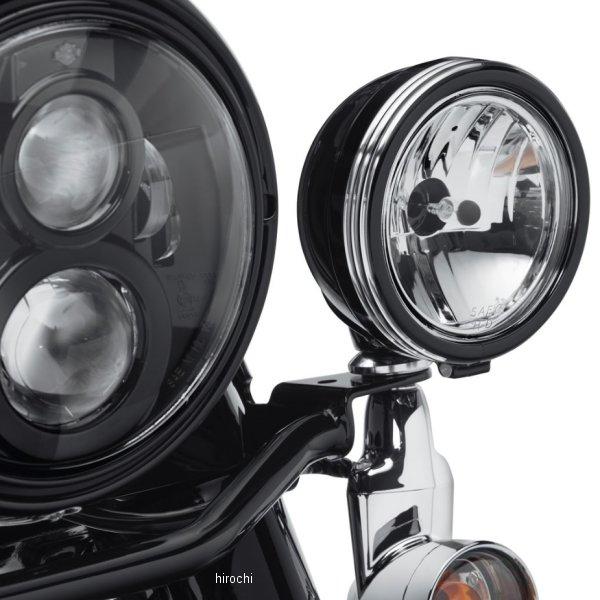 【USA在庫あり】 ハーレー純正 4インチ補助ライト トリムリング ディファイアンス 黒マシンカット 61400355 HD店