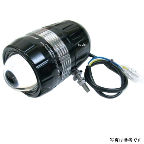 プロテック PROTEC LEDドライビングライト FLH-535 DC12V 28W 6000K REVセンサー無し 遮光板有り 右ボルト 66535-R HD店