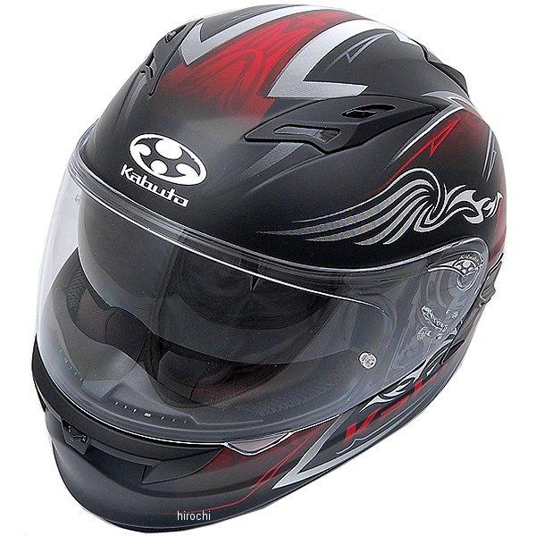 【メーカー在庫あり】 オージーケーカブト OGK KABUTO フルフェイスヘルメット KAMUI 2 BLAZE フラットブラックレッド Lサイズ 4966094569341 HD店