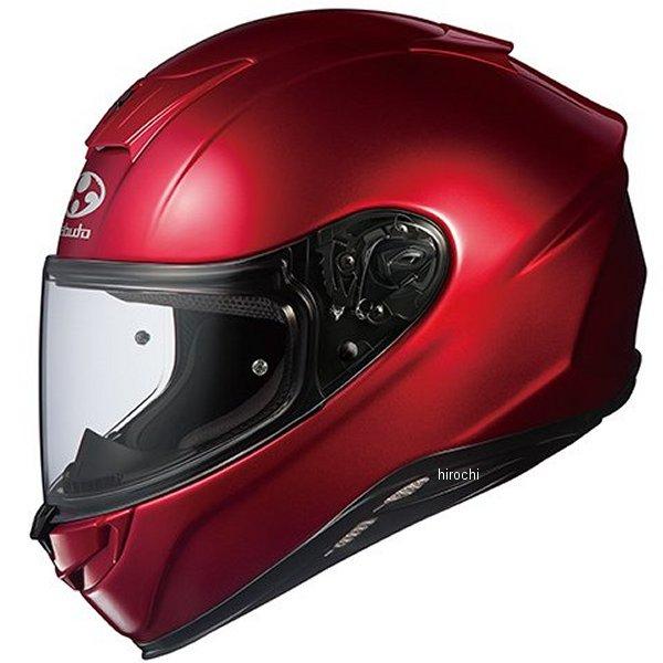 【メーカー在庫あり】 オージーケーカブト OGK KABUTO フルフェイスヘルメット AEROBLADE-5 シャイニーレッド XLサイズ 4966094569938 HD店