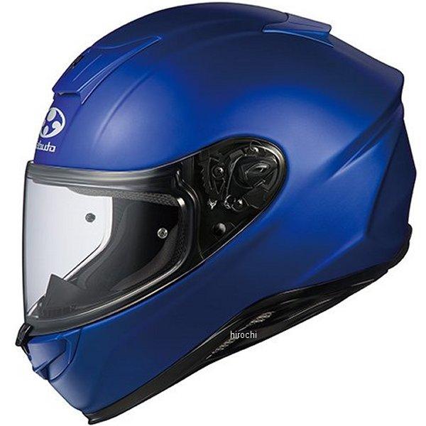 オージーケーカブト OGK KABUTO フルフェイスヘルメット AEROBLADE-5 フラットブルー XLサイズ 4966094570057 HD店