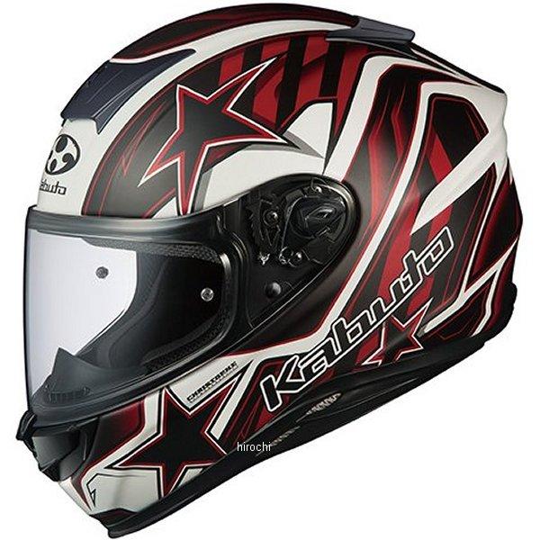【メーカー在庫あり】 オージーケーカブト OGK KABUTO フルフェイスヘルメット AEROBLADE-5 VISION フラットブラックレッド Lサイズ 4966094570408 HD店
