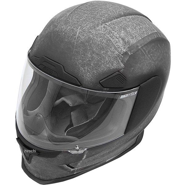 【USA在庫あり】 アイコン ICON フルフェイスヘルメット Airframe Pro コンストラクト/黒 XLサイズ (61cm-62cm) 0101-8013 HD店