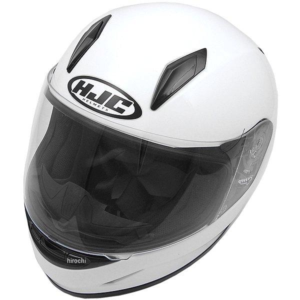 エイチジェイシー HJC フルフェイスヘルメット CL-Y 子供用 ソリッド 白 Mサイズ(51-52cm) HJH0570100M HD店