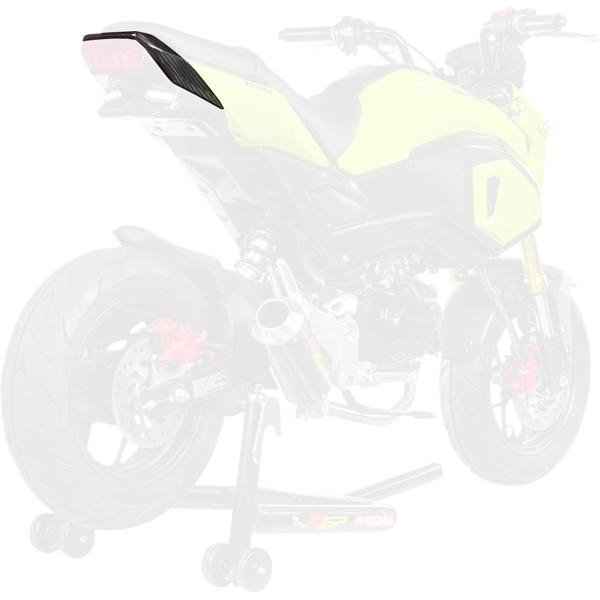 【USA在庫あり】 ホットボディーズ Hotbodies Racing リアカウル 17年-18年 グロム MSX125 カーボン 0521-1574 HD店