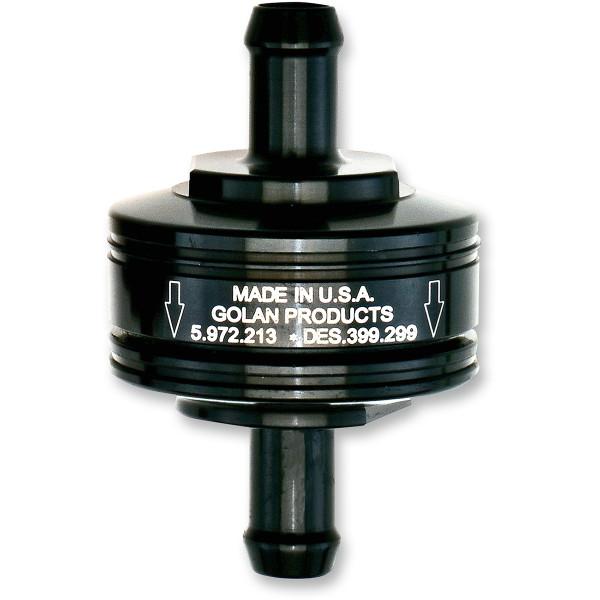 【USA在庫あり】 ゴランプロダクツ Golan Products フューエルフィルター スーパー 1/4インチ(6.4mm) 黒 0707-0054 HD店