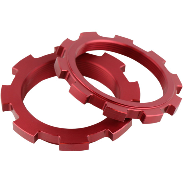 【USA在庫あり】 ファクトリーコネクション Factory Connection プリロードリング 50mm 赤 2枚入り 1312-0744 HD店