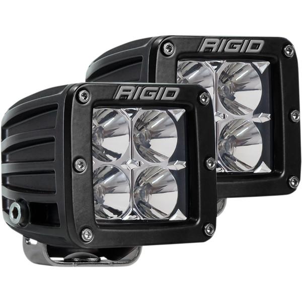 【USA在庫あり】 リジッドインダストリー Rigid ライト 投光タイプ DUALLYシリーズ PRO 左右ペア 2001-1690 HD店