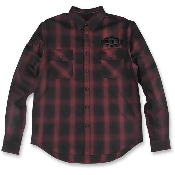 【USA在庫あり】 リーサルスレット Lethal Threat 長袖シャツ 4 Speed Flannel 赤 2XLサイズ 3040-2517 HD店