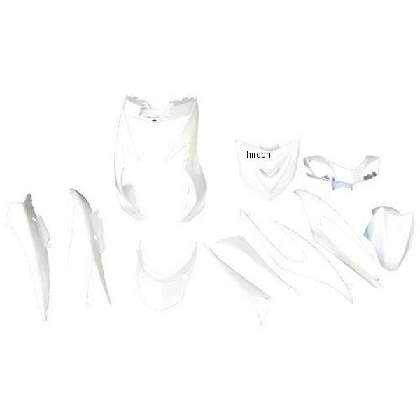 【メーカー在庫あり】 スーパーバリュー 外装11点セット シグナスX 3型 XC125 白 CWL363 HD店
