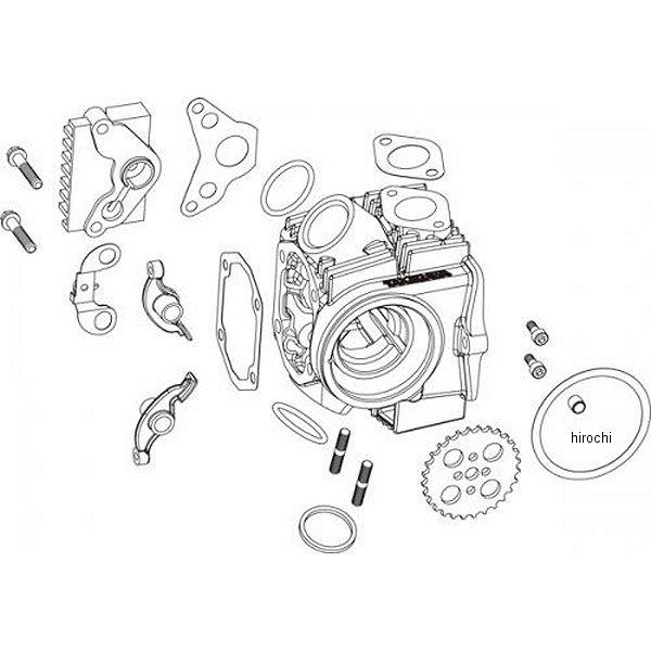 【メーカー在庫あり】 SP武川 17Rステージ+D ヘッドキット 12Vモンキー、ゴリラ、バハ 01-03-0022 HD店