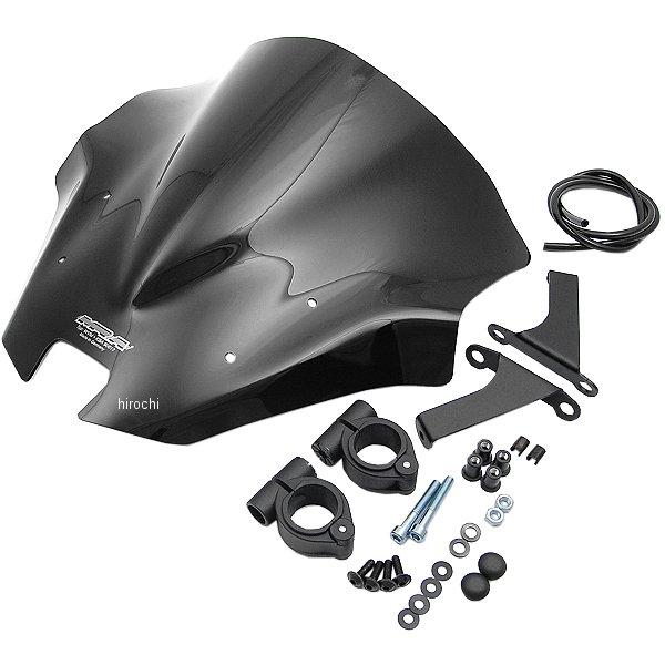 エムアールエー MRA スクリーン レーシング 17年以降 KTM 1290スーパーデュークR 黒 4025066160174 HD店