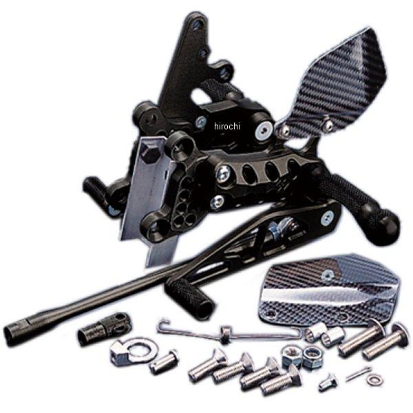 ギルズツーリング GILLES TOOLING バックステップキット AS31GTタイプ 6ポジション調整 06年-10年 GSX-R750、GSX-R600 黒 S07B HD店