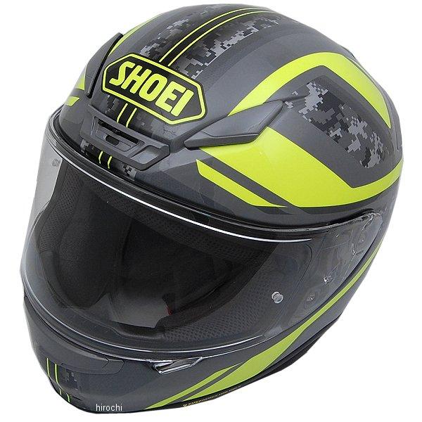 ショウエイ SHOEI フルフェイスヘルメット Z-7 PARAMETER パラメーター TC-3 黄/グレー XLサイズ(61cm) 4512048464653 HD店