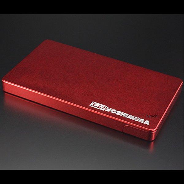 ヨシムラ ビジネスカードケース 赤 903-217-8100 HD店