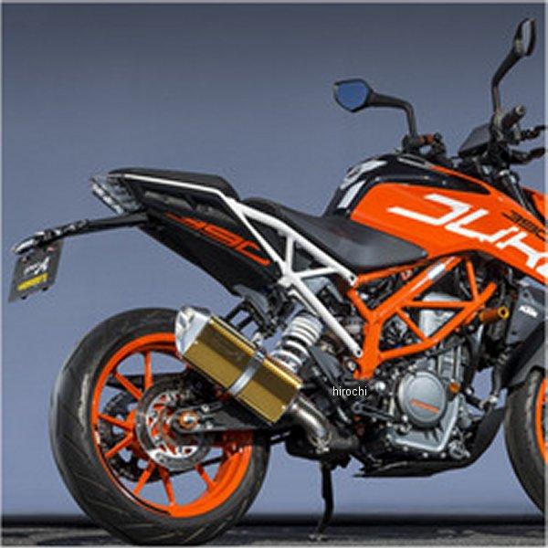 ヤマモトレーシング スリップオンマフラー 17年以降 KTM 390DUKE スペックA TYPE-SA ゴールド 50391-01SAG HD