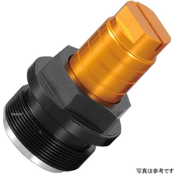 ポッシュ POSH イニシャルアジャスター タイプ2 90年以降 SRX600、SRX400 ゴールド/黒 017678-04 HD店