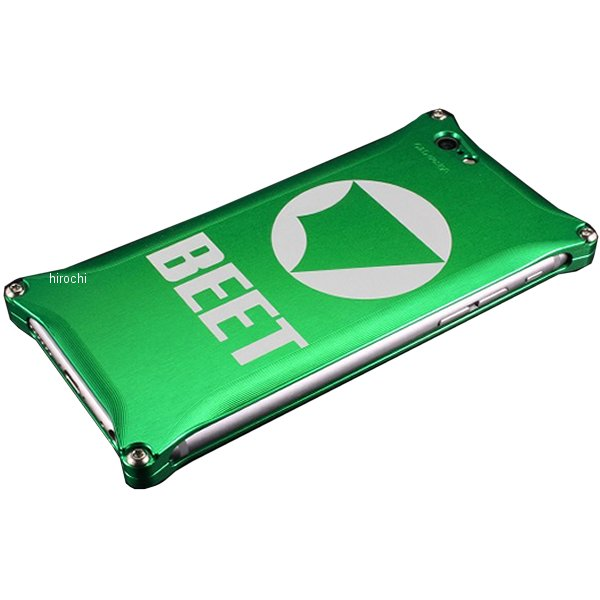 ビート BEET アイフォンカバーiPhone7PLUS 緑 0713-I7P-52 HD店