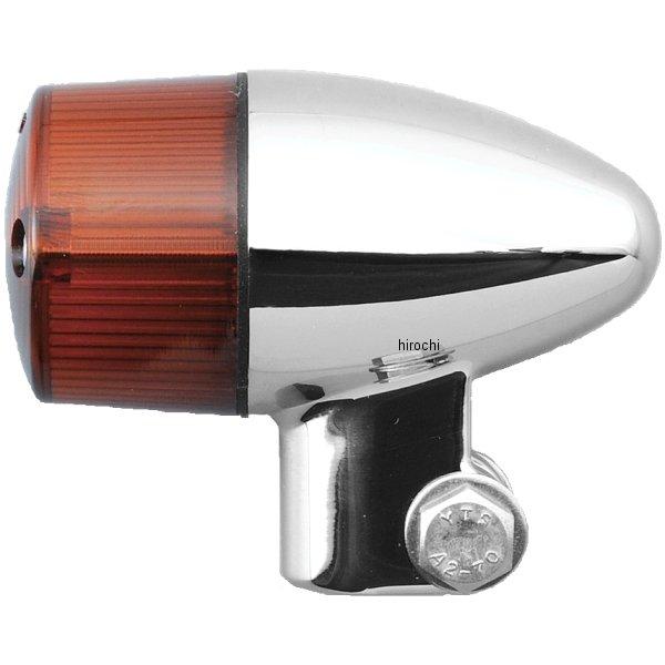 ポッシュ POSH ウインカーセット 04年-08年 ZRX1200R 砲弾タイプ メッキ/オレンジ 071698-33 HD店