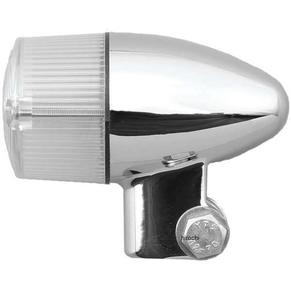 ポッシュ POSH ウインカーセット 04年-08年 ZRX1200R 砲弾タイプ メッキ/クリアー 071699-33 HD店