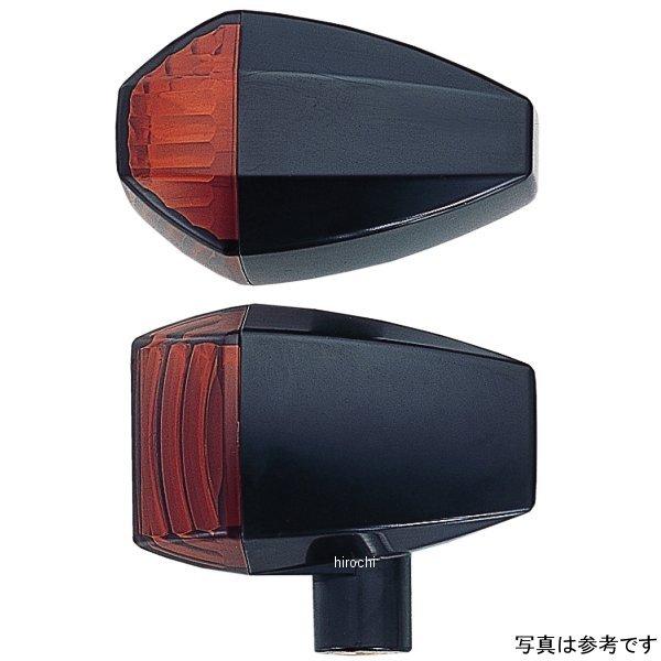 ポッシュ POSH ウインカー 汎用 ユニバーサル ZRタイプ クリスタルカット シングル球 メッキ/アンバー 193085 HD店