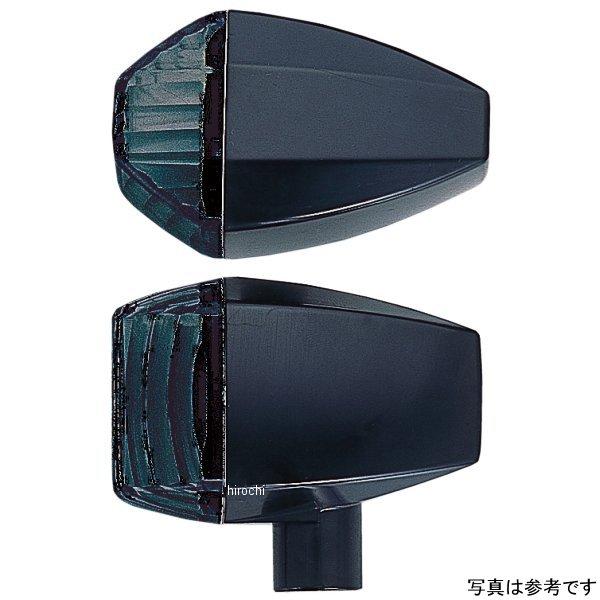 ポッシュ POSH ウインカー 汎用 ユニバーサル ZRタイプ クリスタルカット シングル球 メッキ/スモーク 193087 HD店