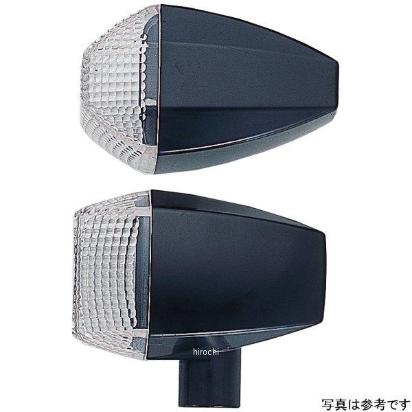 ポッシュ POSH ウインカー 汎用 ユニバーサル ZRタイプ スタンダード ダブル球 メッキ/クリアー 193482 HD店