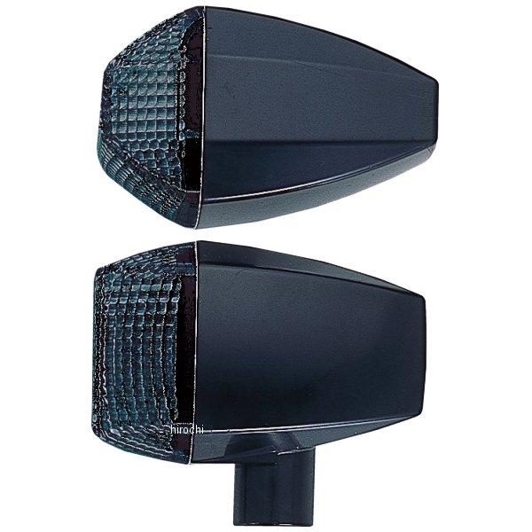 ポッシュ POSH ウインカー 汎用 ユニバーサル ZRタイプ スタンダード ダブル球 黒/スモーク 193483-06 HD店