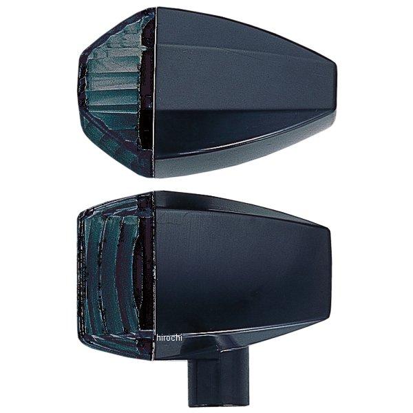 ポッシュ POSH ウインカー 汎用 ユニバーサル ZRタイプ クリスタルカット ダブル球 黒/スモーク 193487-06 HD店