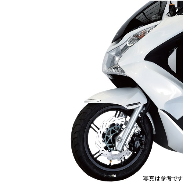 シフトアップ ウェーブディスクローター 220mm PCX125 シルバー/青 250051-03 HD店