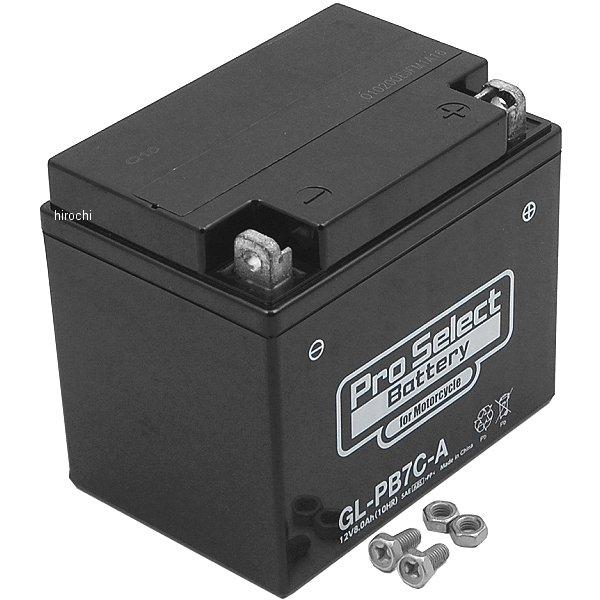 プロセレクト PROSELECT バイク用 バッテリー ジェルタイプ GL-PB7C-A YB7C-A互換 (液入り充電済み) PSB124 HD店