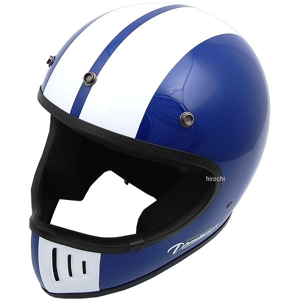 【メーカー在庫あり】 ダムトラックス DAMMTRAX フルフェイスヘルメット BLASTER COBRA-改 ブラスターコブラ-カイ 青 Lサイズ 4560185906598 HD店