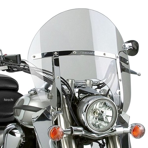 【USA在庫あり】 ナショナルサイクル National Cycle スイッチブレード チョップド 98年-14年 VT、XVS、M50 クリア 558093 HD