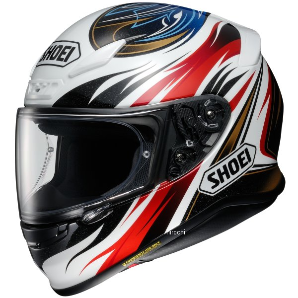 ショウエイ SHOEI フルフェイスヘルメット Z-7 INCISION TC-1 赤/黒 XXLサイズ 4512048472429 HD店