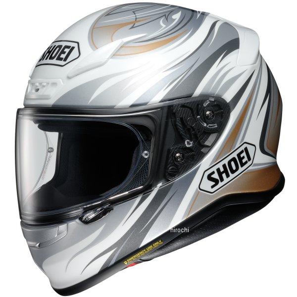 ショウエイ SHOEI フルフェイスヘルメット Z-7 INCISION TC-6 白/シルバー XXLサイズ 4512048472542 HD店