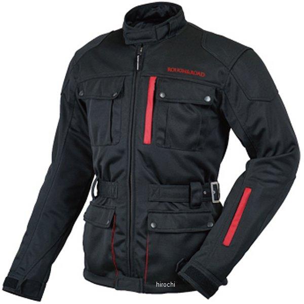 ラフ&ロード 2018年春夏モデル トレックメッシュジャケット 黒/赤 4XLサイズ RR7327BK-RD8 HD店
