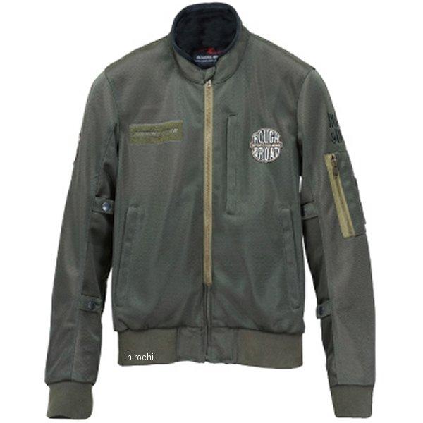 ラフ&ロード 春夏モデル MA-1R メッシュジャケット オリーブ Mサイズ RR7334OV2 HD店