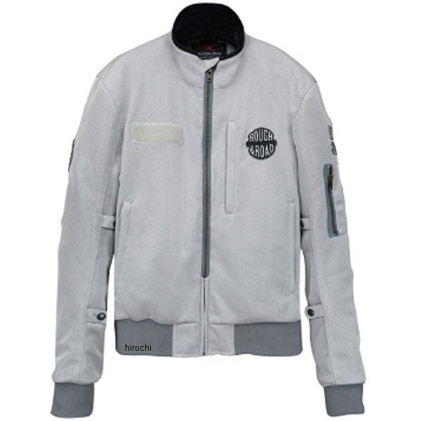 ラフ&ロード 春夏モデル MA-1R メッシュジャケット シルバー Mサイズ RR7334SV2 HD店