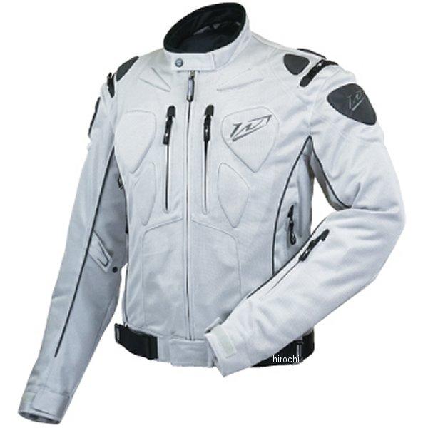 ラフ&ロード 春夏モデル ハードプロテクションメッシュジャケット プラチナシルバー Mサイズ RR7335SV2 HD店