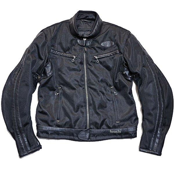 TFJ1801 トゥエンティ・フォー・セブン カスタムレザース 24/7 Custom Leathers 2018年春夏モデル メッシュジャケット 黒/黒 XLサイズ TFJ1801-BK-BK-XL HD店