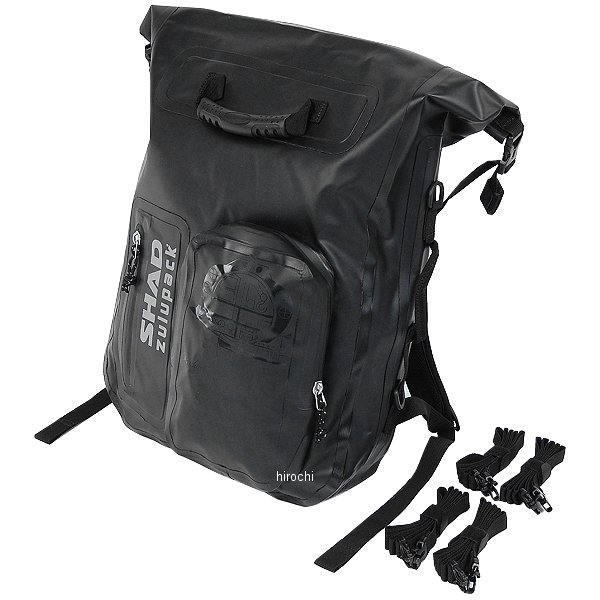 シャッド SHAD zulupack 防水リアバッグ ブラック 35L W0SB35 HD店