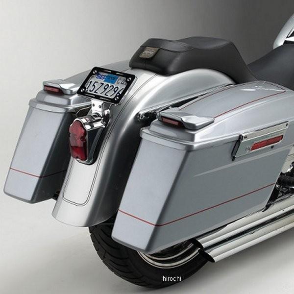 【USA在庫あり】 サイクルビジョン Cycle Visions サドルバッグ取付金具 FLSTF 黒 3501-0102 HD店