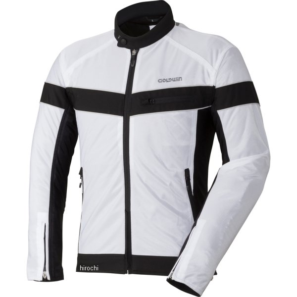 ゴールドウイン GOLDWIN 春夏モデル エアライダーメッシュジャケット 白 Lサイズ GSM22807 HD店