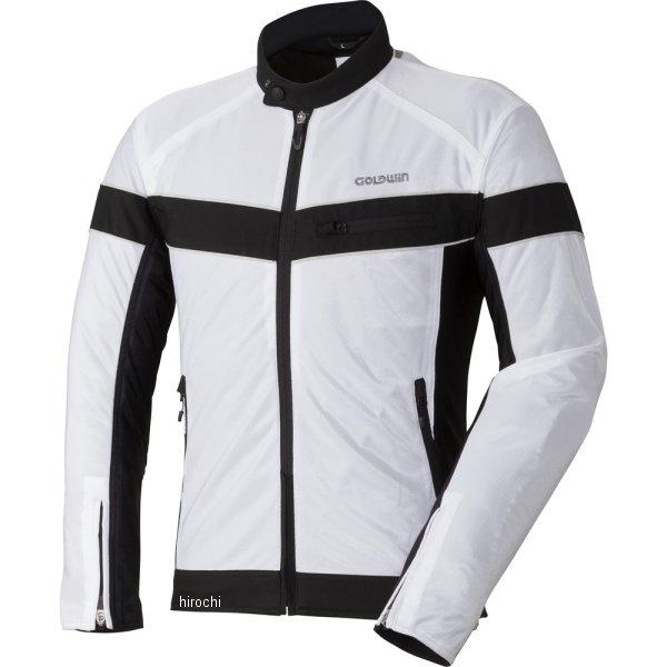 ゴールドウイン GOLDWIN 春夏モデル エアライダーメッシュジャケット 白 BLサイズ GSM22807 HD店