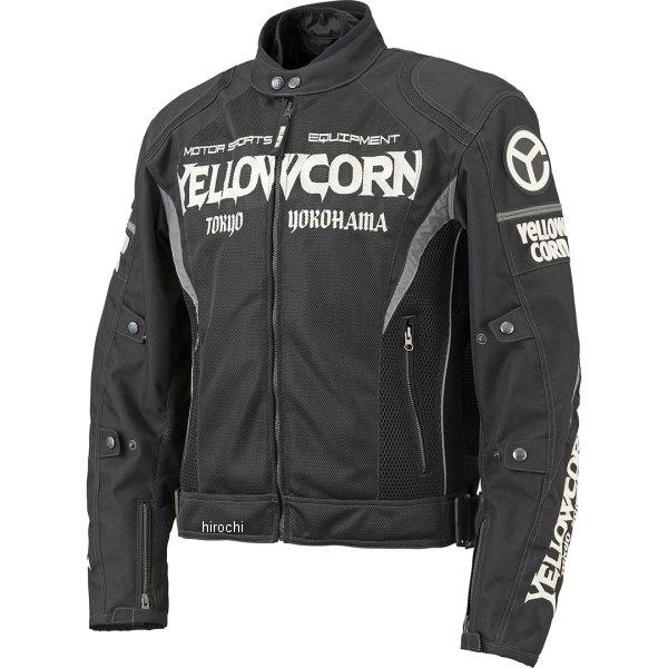 イエローコーン YeLLOW CORN 春夏モデル メッシュジャケット 黒/黒 Lサイズ YM-8101 HD店