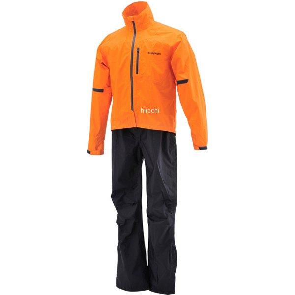 【メーカー在庫あり】 HR-001 ヘンリービギンズ HenlyBegins マイクロレインスーツ オレンジ XLサイズ 96773 HD店