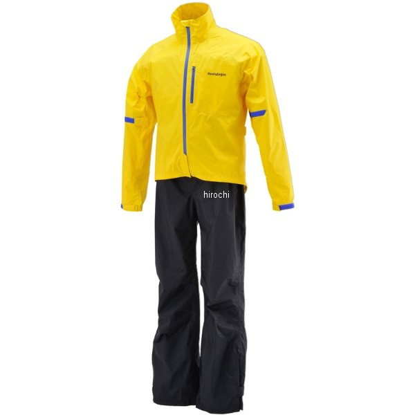 【メーカー在庫あり】 HR-001 ヘンリービギンズ HenlyBegins マイクロレインスーツ 黄 BLサイズ 96781 HD店