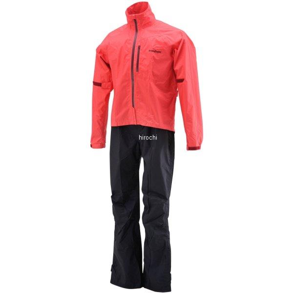 【メーカー在庫あり】 HR-001 ヘンリービギンズ HenlyBegins マイクロレインスーツ 赤 Lサイズ 96784 HD店