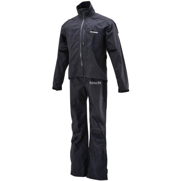 【メーカー在庫あり】 HR-001 ヘンリービギンズ HenlyBegins マイクロレインスーツ 黒 XLサイズ 96797 HD店
