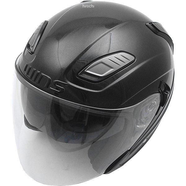 【メーカー在庫あり】 ウインズ WINS ジェットヘルメット SHADE メタリックブラック M/Lサイズ 4560385766909 HD店